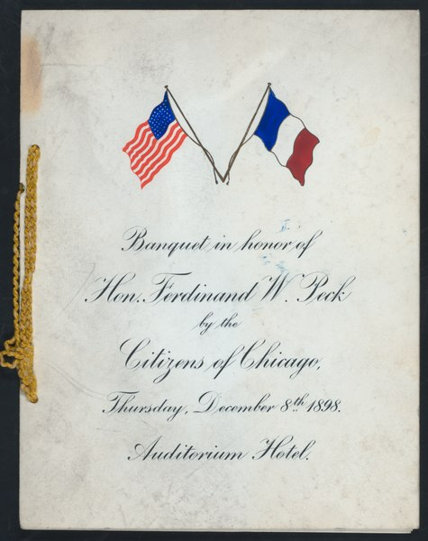 File:BANQUET IN HONOR OF FERDINAND W. PECK (held by) CITIZENS OF CHICAGO (at) AUDITORIUM HOTEL (CHICAGO IL) (HOTEL) (NYPL Hades-271372-467532).tiff
