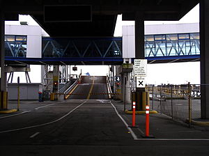 BC Ferries - A BC Ferries loading dock (berth 4 at Tsawwassen terminal)
