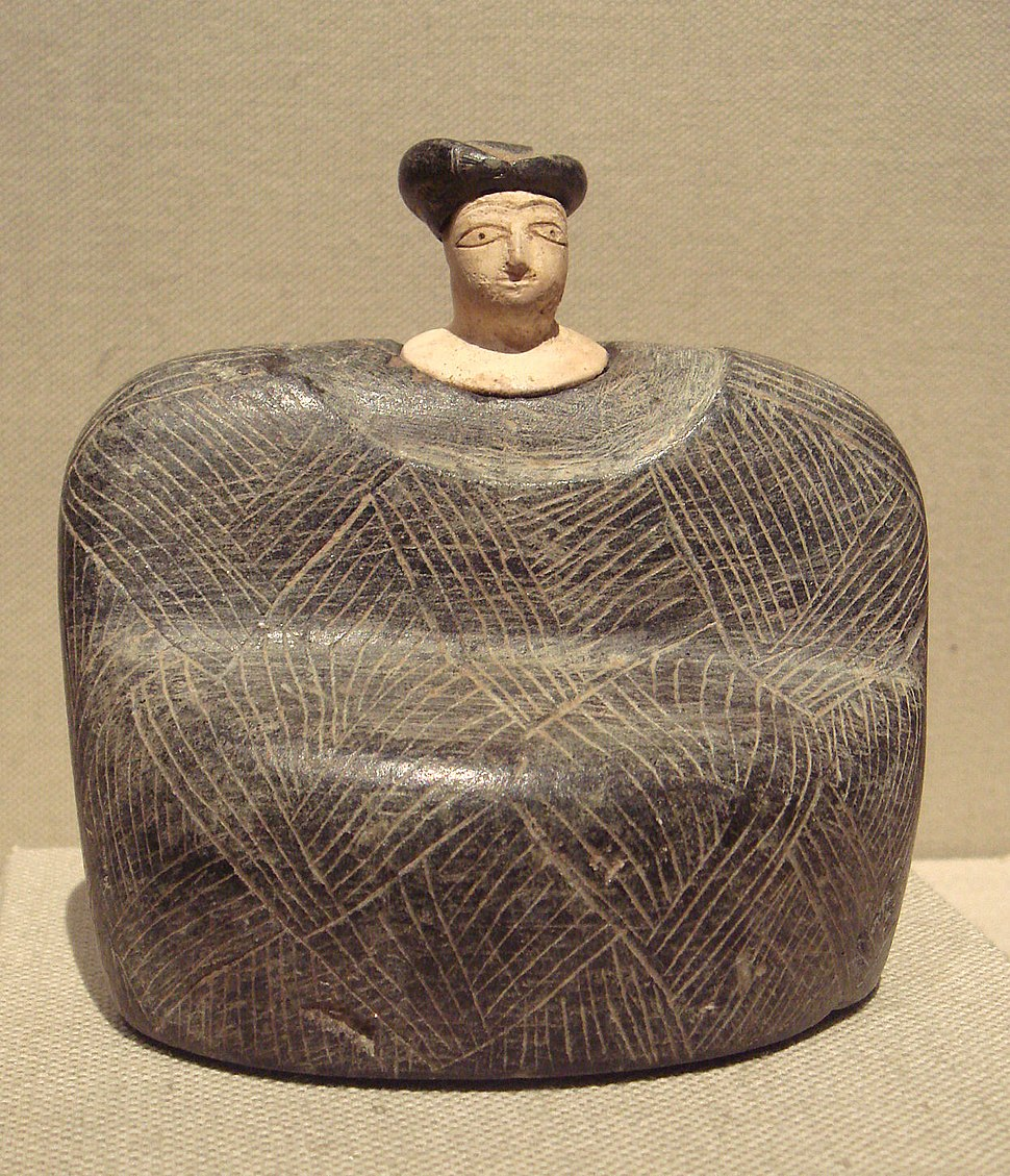 BMAC, Seated female, 3rd - early 2nd millennium BCE