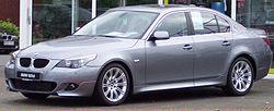 5 serijos BMW E60 525d.