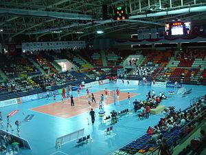 Başkent Volleyball Hall - Image: Başkent Voleybol Salonu 3