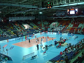 2015 FIVB Volleyball Women's U23 World Championship - Image: Başkent Voleybol Salonu 3