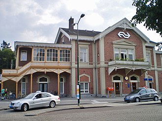 Baarn railway station - Image: Baarn station 2014 7
