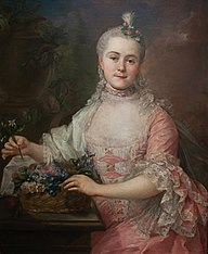 Portrait of Anna Szaniawska née Scypion