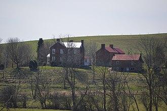 Battle of Cloyd's Mountain - Back Creek Farm
