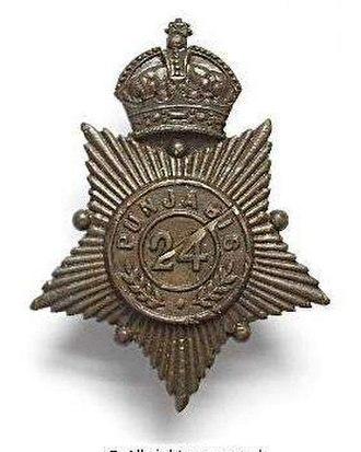 24th Punjabis - Image: Badge of 24th Punjabis