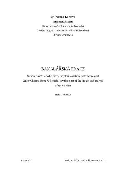File:Bakalářská práce Senioři píší Wikipedii.pdf