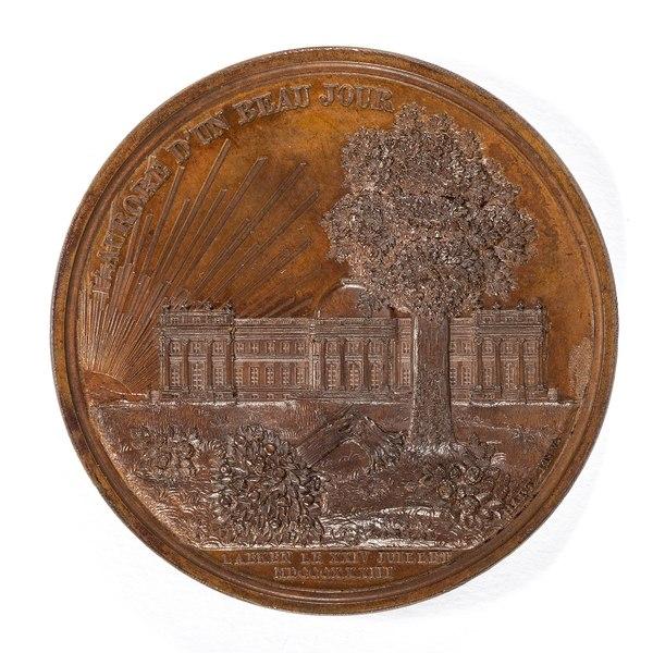 File:Baksida av bronsmedalj med park - Skoklosters slott - 99230.tif