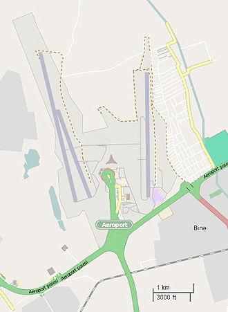 Heydar Aliyev International Airport - Site Map of Baku Airport
