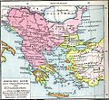 Balkans in 1350 according to Gustav Droysen from 19th century.jpg
