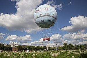 Aerophile - Ballon Generali taking off