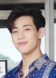 "BamBam outside ""Hello Counselor"" studios in Yeongdeungpo-gu, Seoul, 12 May 2019 02.jpg"