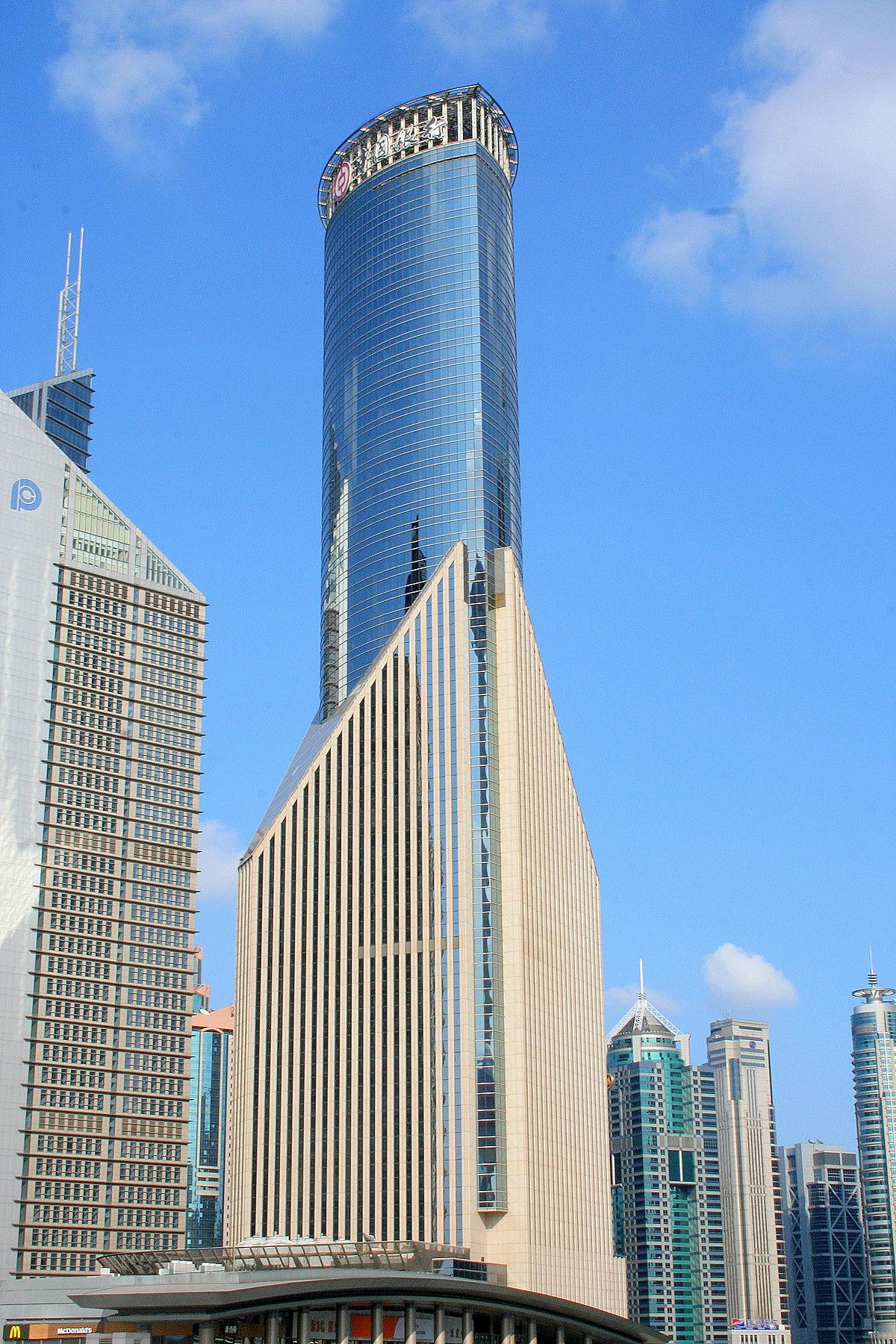 Bank of China Tower, Shanghai - Wikipedia