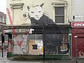 Banksy's cat-rat on the White House pub^ - geograph.org.uk - 2222557.jpg