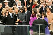 Barack Obama's 2013 inauguration at U.S. Capitol.jpg