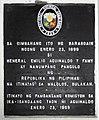 Barasoain Church where Aguinaldo took his oath of office as the 1st Philippine president historical marker.jpg