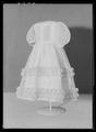 Barnklänning för prinsessan Eugénie (f 1830) - Livrustkammaren - 10442.tif