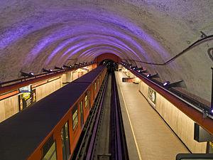 Metro Barranca del Muerto - The platforms