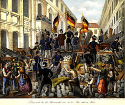 Image result for 1848 protests students