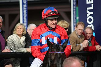 Barry Geraghty - Barry Geraghty at Punchestown in 2013