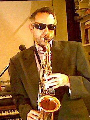 Barry Douglas Lamb - Barry Lamb playing the saxophone