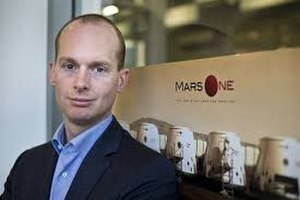 Mars One - Bas Lansdorp, founder of Mars One
