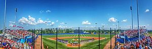 Baseball at the 2015 Pan American Games - The Pan Am Ball Park in Ajax, was the venue for the baseball competitions.
