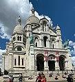 Basilique Sacré Cœur Montmartre façade sud Paris 11.jpg
