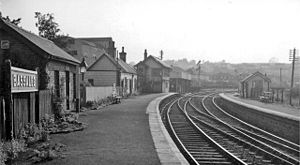 Bassaleg - Bassaleg Station in 1962