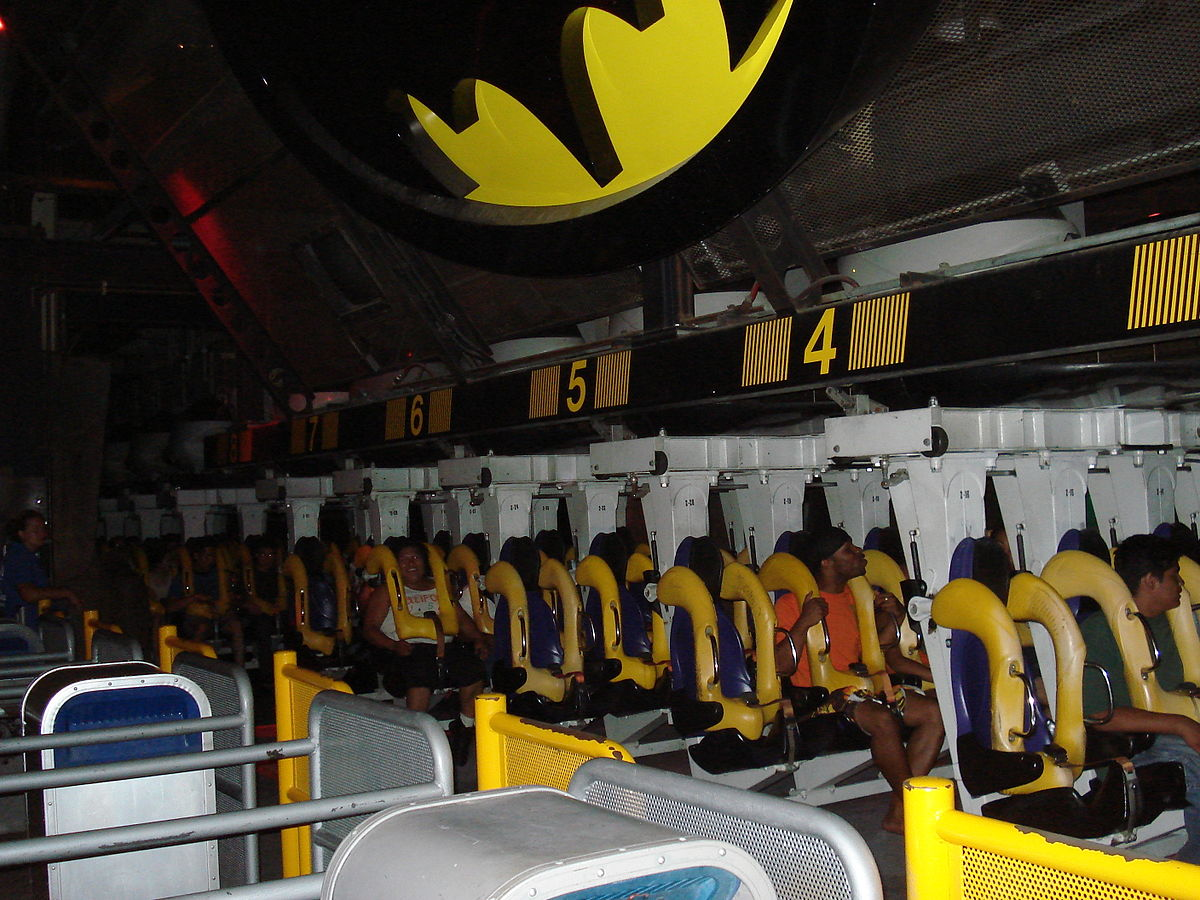 Batman Car Ride In Electric Charging Port