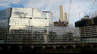 Northern line extension to Battersea Public rapid transport construction project