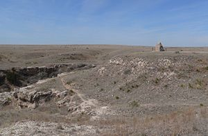 Northern Cheyenne Exodus - Battle Canyon, site of Battle of Punished Woman's Fork