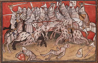 Duchy of Brittany - The Battle of Auray in 1364 resulting in victory for the House of Montfort in the Breton War of Succession