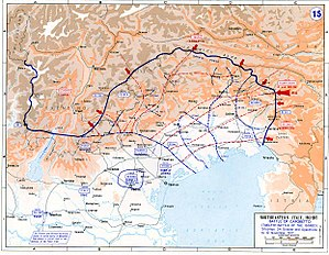14th Army (German Empire) - The Battle of Caporetto October/November 1917