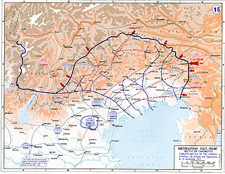 Military history of Italy during World War I - Map showing the Italian losses after the Caporetto breakthrough.