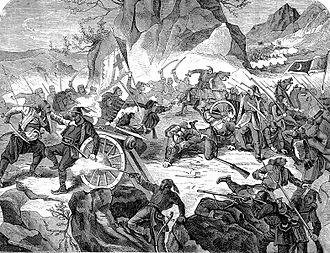 Montenegro - Battle of Vučji Do between Montenegrin and Ottoman Army
