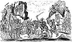 As tropas de Fernando Cortez derrotaram o ex�rcito asteca na Batalha de Otumba (1520).