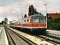Baureihe 614 im Bahnhof Eschenau (2001).jpg