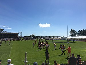2017 Mitre 10 Cup - Waikato vs Bay of Plenty in Week 9.