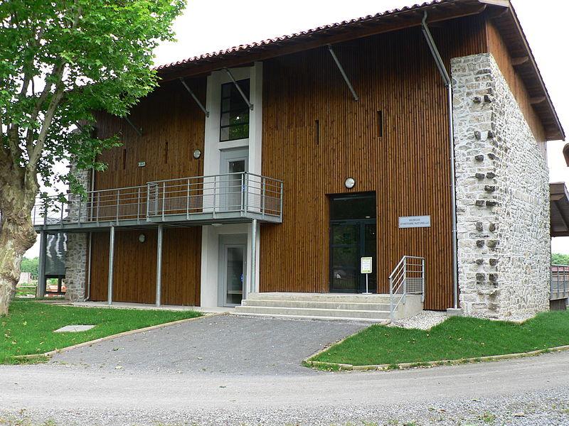 Nouveau bâtiment du Museum d'Histoire Naturelle à la plaine d'Ansot