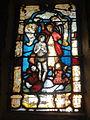 Beauvais (60), église Saint-Étienne, vitrail dans l'ancienne chapelle du Saint-Sépulcre.JPG