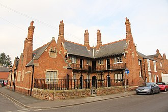 James Fowler (architect) - Bedehouses, Louth