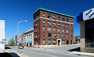 Downtown Fall River Historic District - Bedford Street