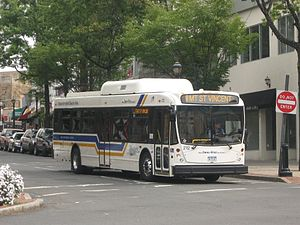 Bee-Line Bus System - Image: Bee Line System NABI 40LFW (model year 2009)