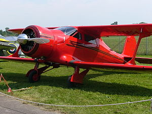 Beechcraft Model 17 Staggerwing - Vintage Wings of Canada Beechcraft D17S Staggerwing