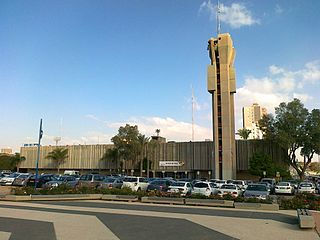 Beersheba City in Israel