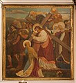"""Belfast St George's Church Sanctuary Painting by Alexander Gibbs """"They led him away to crucify him."""" 2018 08 24.jpg"""