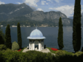 Bellagio Villa Melzi temple Como Lake.png