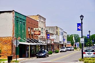 Bells, Tennessee - Main Street in Bells