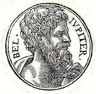 Belus (Babylonian) - Belus from Guillaume Rouillé's Promptuarii Iconum Insigniorum